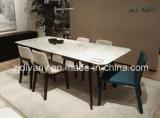 米国式のホーム食事のRoonの木の革座席の椅子(C-50)