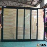 Portello scorrevole del blocco per grafici di alluminio delle 3 piste, finestra, finestra di alluminio, finestra di alluminio, portello di vetro K01097