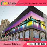 visualizzazione di LED esterna di colore completo di 7500nits P10 con il video schermo di visualizzazione di pubblicità del LED di HD Digitahi