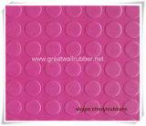 Reichweite bescheinigt Anti-Lippenrunde Tasten-Gummimatte/Gummiblatt