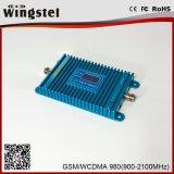 2g 3G 4G 900 / 2100MHz teléfono móvil de señal móvil de refuerzo con antena al aire libre