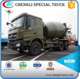 8m3 Beiben 6*4 336HP 시멘트 8000liters 구체 믹서 트럭