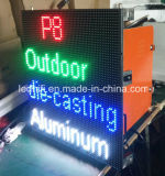 Módulo al aire libre de la pantalla de visualización de LED P8 para el vídeo HD de la publicidad al aire libre que hace publicidad de la visualización de LED al aire libre ligera del panel del alquiler LED de la pantalla de la etapa P8 LED