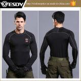 De militaire Lichtgewicht Warme Overhemden van het Ondergoed van de Opleiding Lange Sleeved Thermische