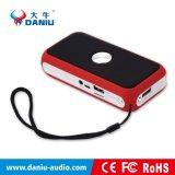 Altoparlante portatile di Bluetooth del regalo di promozione di natale con Powerbank e la torcia elettrica