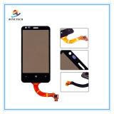 Передвижной экран касания LCD сотового телефона для Nokia Lumia 620 стеклянных частей цифрователя N620