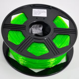 PLA 1.75mm 3mm Plastic 3D ABS van de Printer Gloeidraden met Hoogste Kwaliteit