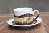 Pratos do jogo de café da caneca do chá do copo de chá do copo de café da porcelana