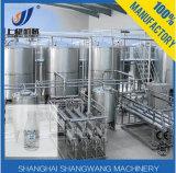 Máquinas pasterizadas de la cadena de producción de leche de la leche de Uht/del tratamiento de la leche