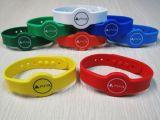 Silicone impermeabile variopinto Wristbands-50 di RFID