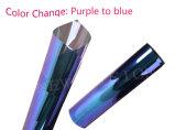Veranderen van de Kleur van Chemeleon van de Markt van Rusland Blauw aan de Purpere AutoFilm van het Glas