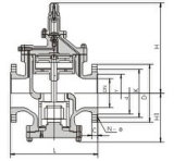 Клапан уменьшения давления пара RP-1h (PRV)