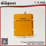 Bestes verkaufenband-Signal-Verstärker-intelligentes Mobile produkt G/M DCS-WCDMA Tri