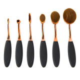 Doux synthétique Maquillage fibre 6PCS Toothbrush Brush Set