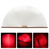 Plegable del USB de la lámpara del Nightlight creativo de luz LED Libro Mejor Inicio novedad decorativo recargable Lámparas blanco / caliente / azul / rojo