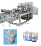 De automatische Plastic PE Fles van het Huisdier van de Drank van de Film krimpt de Apparatuur van de Machine van de Verpakking van de Omslag van de Fles