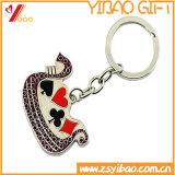 Insignia de encargo al por mayor de Keyholder del metal para Keychain con el regalo de la promoción del Keyring (YB-HR-386)