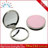 Specchio cosmetico rotondo di cuoio dell'unità di elaborazione in casella