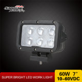 """최고 밝은 7 """" 60W 차 부속품 LED 작동되는 램프를 방수 처리한다"""