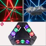 indicatore luminoso capo mobile del ragno LED di 9*10W RGBW 4in1