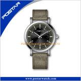 Затаврите ваш собственный wristwatch Miyota логоса полосой неподдельной кожи