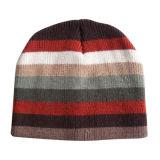 Chapéu relativo à promoção do inverno da listra preta e vermelha (JRK059)