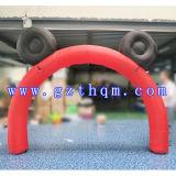 Im Freienaktivitäten, die aufblasbare Bogen-Ereignis-aufblasbaren Eingangs-Bogen bekanntmachen