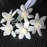 Цветок Handmade белого отражетеля ароматности деревянный (SF090)