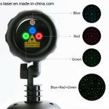 Natal ao ar livre do laser do movimento de Rg