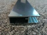 Le sable en aluminium de l'extrusion 6063 soufflé/a poli le profil de anodisation