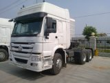 Cnhtc Sinotrukの3車軸371HP頑丈なトラクターのトラック