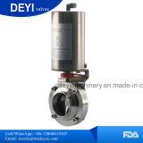Заварка клапан-бабочки пневматического привода нержавеющей стали Ss304