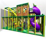 Спортивная площадка безопасных джунглей занятности Cheer опирающийся на определённую тему крытая для малышей