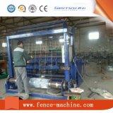 La cerca caliente del prado de la venta trabaja a máquina el ganado que cerca la máquina