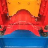 Rullo d'acciaio della protezione del Ridge del tetto del metallo che forma macchina