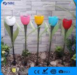 승진 판매 플라스틱 꽃 작풍 선물을%s 태양 말뚝 빛