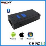 Mini programa de lectura sin hilos del código de barras de Bluetooth, explorador portable del código de barras, soporte iPad/iPhone/Smartphone/PC, Mj2850