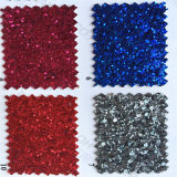 Fancy Glitter PU Leather for Decoration Package Hw-864