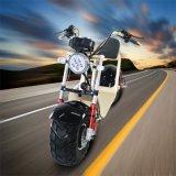 Scooter de moteur en cuir de portées de Joie-Inno avec le double traitement de freinage