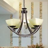 Lamp van de Kroonluchter van de Verkoop van het Midden-Oosten de Hete Moderne Hangende met Glas