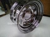 トレーラーのための13*4.5によって電流を通される空気の鋼鉄車輪の縁そしてタイヤ