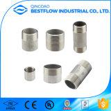 熱い販売ASTM A733 304のステンレス鋼NPTの糸の管のニップル