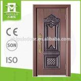 2017fashion Diseños puertas de seguridad de metal puerta principal de usados