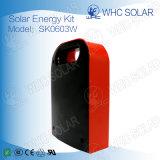 Mini sistema 3W solar ao ar livre com luzes do diodo emissor de luz