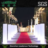 Muebles ligeros de la columna de la boda de la iluminación de la lámpara de la decoración del LED (LDX-A08)