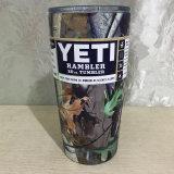 Copo e copos de chá de aço inoxidável 30 oz Yeti Camo
