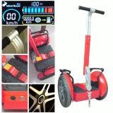 Scooter debout électrique de la vente chaud le meilleur marché 17 de pouce deux de roue de l'équilibre d'individu