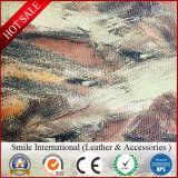 Выбитый картиной материал PVC кожаный для искусственной кожи ткани сумки багажа синтетической кожаный для мешков для софы
