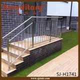 Pinsel-Ende-WohnEdelstahl-Treppen-Geländer für Innenraum (SJ-H5056)