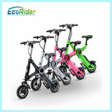 Bicicleta Elétrica Foldable Ecorider Bicicleta elétrica com bateria removível